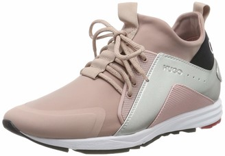 HUGO BOSS Women's Hybrid_Runn_lam Low-Top Sneakers