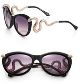 Roberto Cavalli Modern 56MM Round Sunglasses