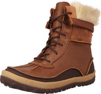 Merrell Womens Tremblant Mid Polar Waterproof High Rise Hiking Boots