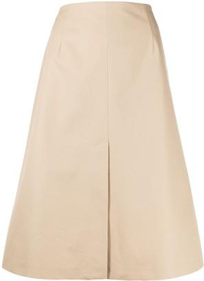 Maison Margiela A-line cotton skirt