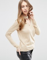 Asos Sweater with Choker Detail