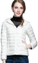 CHERRY CHICK Women's Packable Down Jacket Black