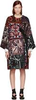 Chloé Multicolor Jacquard Blanket Coat