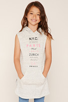 Forever 21 FOREVER 21+ Girls Hoodie Dress (Kids)