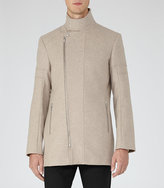 Reiss Atmosphere Funnel Collar Coat