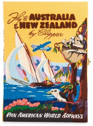 Olympia Le-Tan Voyage Australia & New Zealand book clutch