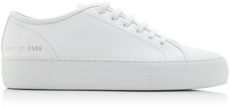 Common Projects Tournament Low-Top Leather Sneakers
