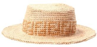 Fendi Raffia bob hat