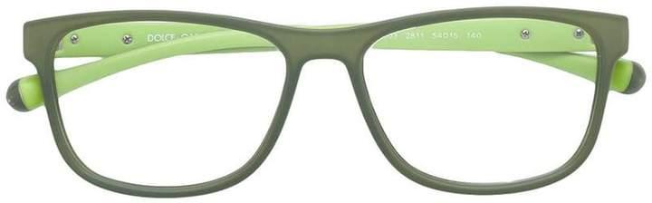Dolce & Gabbana Eyewear rectangular frame glasses