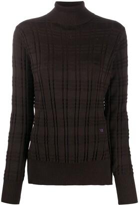 Victoria Beckham Roll Neck Long-Sleeved Jumper