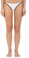 Solid & Striped Women's Natalie Microfiber Bikini Bottom-NAVY