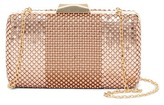 Jessica McClintock Noelle Beaded Mesh Clutch