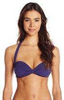 Norma Kamali Women's Bill Bra Bikini Top In Midnight