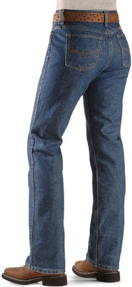 Riggs Workwear Womens Fr Flame Resistant Western Mid Rise Boot Cut Jeans