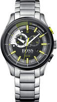 HUGO BOSS 1513336 yachting timer II stainless steel watch