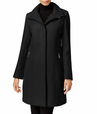 Kenneth Cole New York Women's Walker Wool Coat