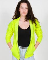 Unisex Highlighter Flex Fleece Zip Hoody