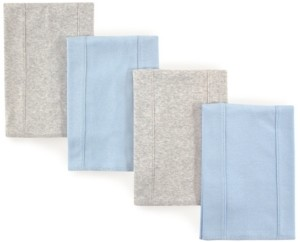 Touched by Nature Organic Cotton Burp Cloth, 4-Pack, One size