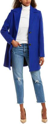 Tahari Wool-Blend Coat