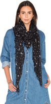 Maison Scotch Lightweight Star Scarf