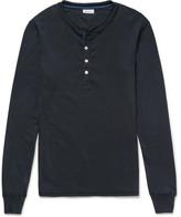 Schiesser Karl Heinz Cotton-Jersey Henley Pyjama T-Shirt