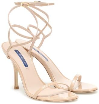 Stuart Weitzman Merinda patent-leather sandals