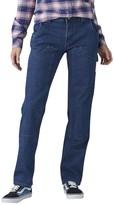 Dickies Women's Stretchy Straight-Leg Carpenter Pants