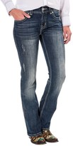 Rock & Roll Cowgirl Chevron Crossing Jeans - Mid Rise, Bootcut (For Women)