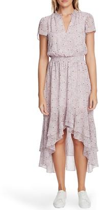 1 STATE Wildlfower Bouquet High/Low Dress