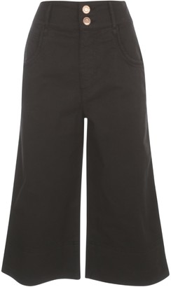 See by Chloe Wide-Leg Cropped Jeans