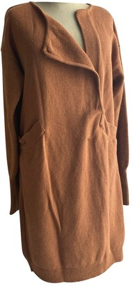 Les Prairies de Paris Camel Wool Dress for Women