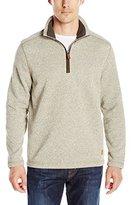 G.H. Bass & Co. Men's Madawaska 1/4 Zip Long Sleeve Sweater Fleece