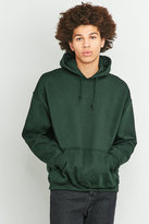 Uo Forest Green Oversized Hoodie