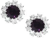 Swarovski Krystal Surround Gem Stud Earrings