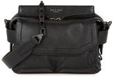 Rag & Bone Pilot Micro Black Leather Cross-body Bag