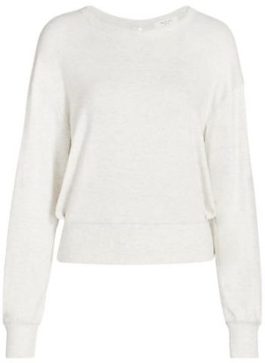 Rag & Bone The Knit Crossover Sweater