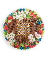 Mackenzie Childs MacKenzie-Childs Berries & Blossoms Serving Platter