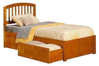 Richmond Atlantic Furniture Platform Bed with 2 Urban Bed Drawers
