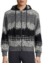 Plac Retro Spectrum Oversized Wool Blend Hoodie