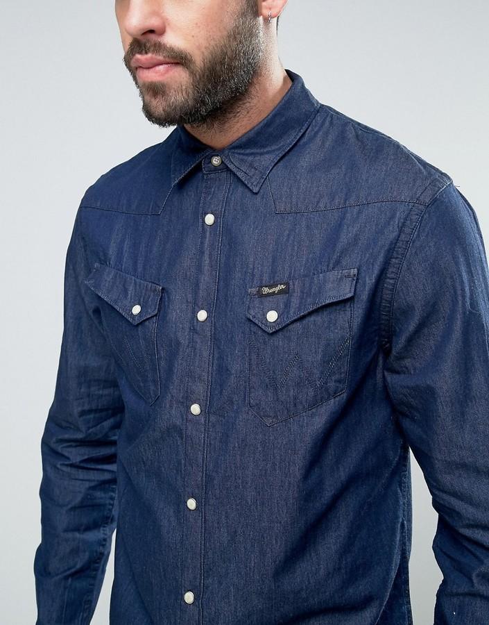 Wrangler Denim Pocket Shirt