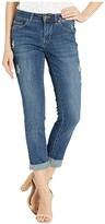Jag Jeans Carter Girlfriend Crosshatch Denim Jeans (Thorne Blue) Women's Jeans
