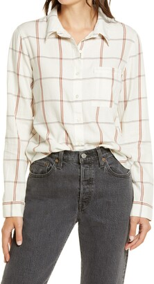 BP Plaid Button-Up Shirt