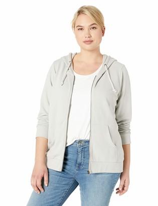 Jag Jeans Women's Plus Size Edie Zip Up Hoodie