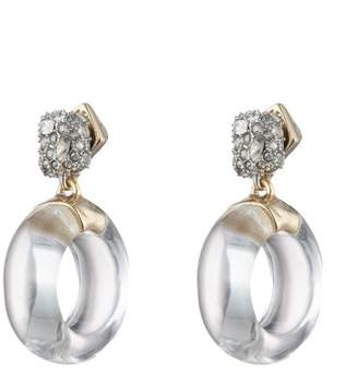 Alexis Bittar Domed Drop Circle Post Earring