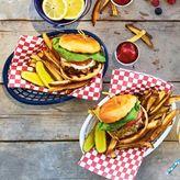 Sur La Table Gingham Burger Basket Liners