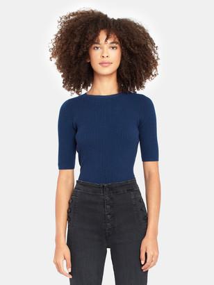Billie The Label Christine Rib Knit Sweater