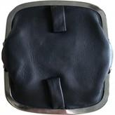 Maison Margiela Black Leather Wallets