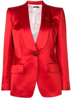 Tom Ford stitching detail blazer