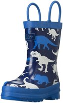 Hatley Silhouette Dinos Rain Boot (Inf/Yth) - Blue - 13 Youth