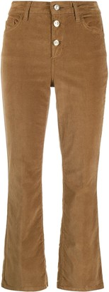 Liu Jo Cropped Corduroy Trousers